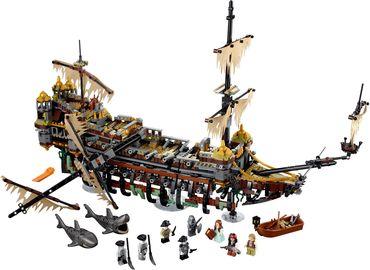 Basteln & Kreativität Pirates of Caribbean Baustein Toy of Black Pearl Queen Annes Revenge Silent Mary